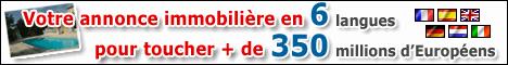 Votre annonce immobilière sur plus de 100 sites en 6 langues